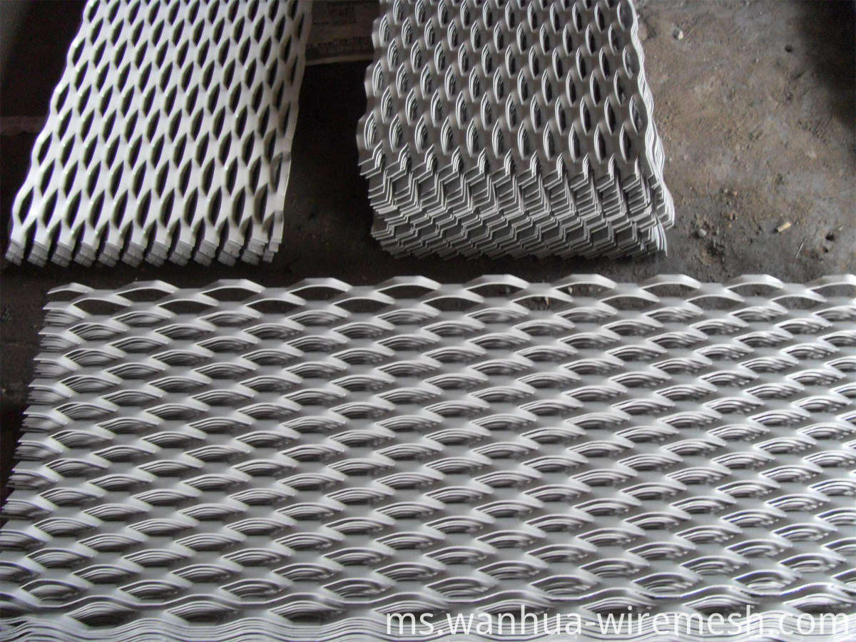 Staniless steel Expanded Metal Mesh ceiling (1)