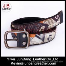 Newest Fashion Men′s Webbing Belts