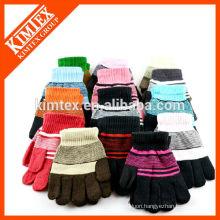 Acrylic knit custom student gloves