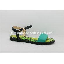 Nouveau Sandales femme Cool Comfort Flat Seabeach en cuir