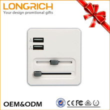 World universal schuko plug adapter with fuse OEM&ODM service
