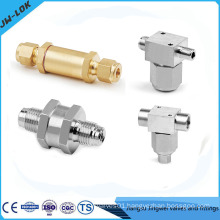 Brass nitrogen gas filter