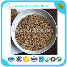 las nueces en el precio de la cáscara tienen una ventaja competitiva para los medios de filtro de shell de nueces