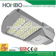 Fábrica directa de aluminio de iluminación al aire libre 90W 100W 120W 150W SMD led luces de la calle