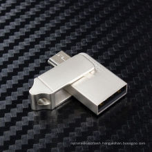 Metal OTG USB Flash Drive for Promotional Gifts