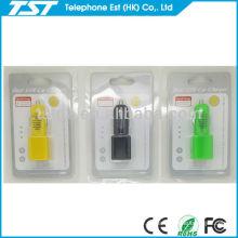 Para el cargador del coche del iPhone 4 con el puerto dual del USB