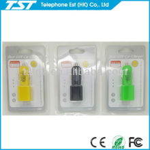 for iPhone 4 Car Charger with dual USB Port