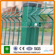 PVC Coated Welded Wire Fence Panel for House/Garden
