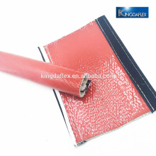 silicone coated fire sleeve for protection