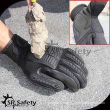SRSAFETY 13G knitted liner nitrile coated cut working gloves high impact gloves