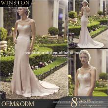 Alibaba Dresses Supplier sexy front slit wedding dresses