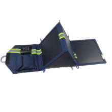 10W Portable Waterproof Cloth Solar Charger for Outdoor Camping