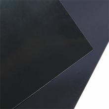 Feuilles de miroir en plastique Pvc bon marché de film noir brillant