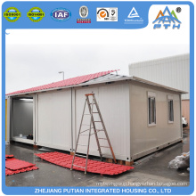 High quality modern EPS sandwich panel prefab single floor container homes for sale