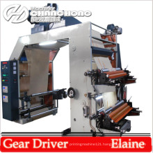 Letter Press Four Color Kraft Paper Flexo Printing Machinery