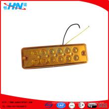 Amber 24V 10-LED LKW Seitenlicht