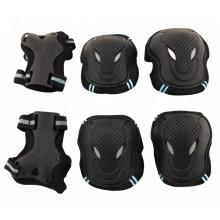 Skate & Ski protecteurs de protection de coude de genou 6 pcs costume enfants ski skate protecteurs