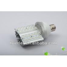 chaud!!! Bon prix haute puissance 100-240v 110-277v 12-24v 24w E40 ip65 led street light price list