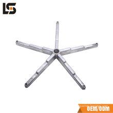 Vente chaude De Bonne Qualité en aluminium moulage sous pression chaise de bureau pièces de bureau chaise composants