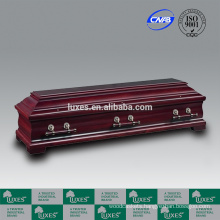 LUXES German Style Solid Wood Coffins&Caskets For Sale