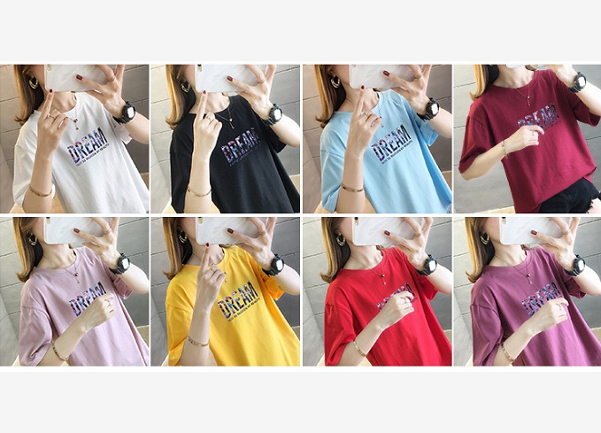 Short-sleeved Cotton T-shirt