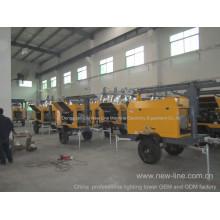 China Tragbare Lichtturm-Berufsfabrik (7-18kw)