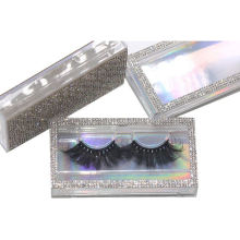 SL038H Hitomi Private Label Real Mink Eyelashes soft natural mink eyelashes Fluffy 25mm Magnetic Mink Eyelashes