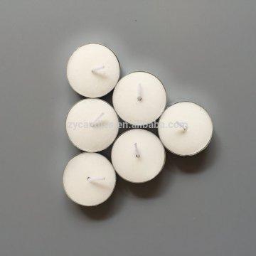 Velas blancas baratas de 100pcs Tealight en la bolsa de plástico