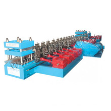 Máquina formadora de rollo de barandilla de dos ondas