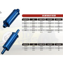 Hydraulic In-line billet filter