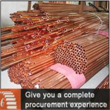 Tubos de cobre C13017 para aplicações industriais