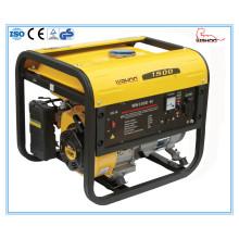 Générateur d'essence de moteur de vente chaude de 1.5kw cuivre 5.5HP