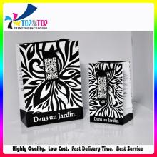 Bolsa de papel romántica / bolsa de regalo de papel de amor con bolsas de cinta / regalo