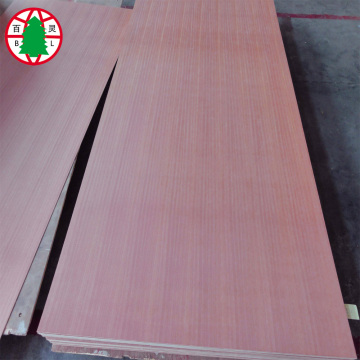 sapele veneer MDF board 18mm for furniture use