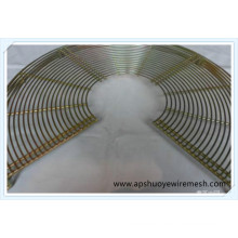 Industrie OEM Metalldraht Lüfter Fingerschutz Lüfterabdeckung