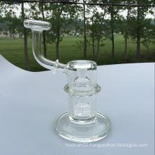 Mini Glass Water Pipe Hitman Hammer Tube Smoking Pipe Birdcage Percolator Perc Glass Pipe Wholesale OEM Customs Pipe