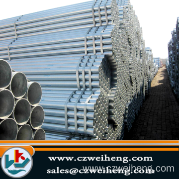 Hot sale galvanized Erw Steel pipe
