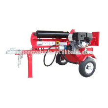 Hot sell wood log cutter and splitter,wood chips log making machine, screw wood splitter