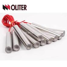 Uso industrial del termopar del cartucho del calentador del tubo de la calefacción del cartucho de la inmersión industrial de OLITER