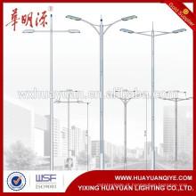 Poste de luz de aço poste de luz