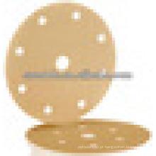 Disco de troca rápida com papel de areia