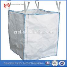 Top open FIBC big bag 100kg Bolsas Constructores Jardín Waste ton storage saco Rubble