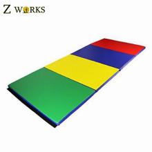 Colorful Chinese Cheap Folding Gym Exercise Mat Folding Foam Mat