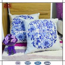 Hot Selling Sofa Dekoration Kissen mit Stickerei Logo Throw Pillow