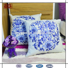 Hot Selling Sofa Decoration Cushion with Embroidery Logo Throw Pillow