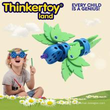 Vintage Toddler Construction Themed Bird Toys