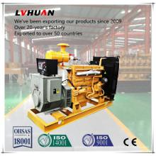 Generator des Biogas-Dynamo-Generator-Gebrauches mit Wasserpumpe und Methan-Behälter-Installation