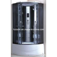 Cabina de cubículo de lujo completa de la cabina de la casa de la ducha del vapor (AC-68)