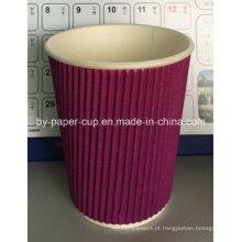 Especificação personalizada de copos de papel para café