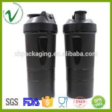 PP OEM design round water plastic joyshaker bottle with food grade